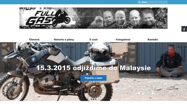 Web pro partu motorkářů